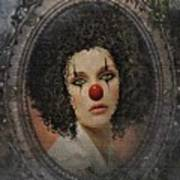 The Tearful Clown Art Print