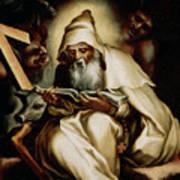 The Temptation Of Saint Anthony Art Print
