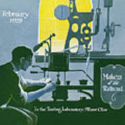 The Testing Laboratory Art Print