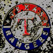 The Texas Rangers 6b Art Print