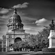 The Texas State Capitol Art Print