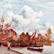 The Thames Art Print