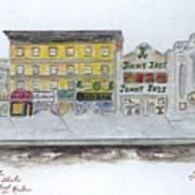 Theatre's Of Harlem's 125th Street Art Print