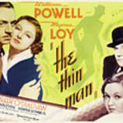 The Thin Man 1934 Art Print