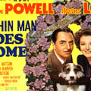The Thin Man Goes Home, William Powell Art Print