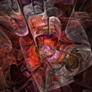 The Third Voice - Fractal Art Art Print