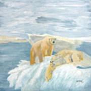 The Three Bears Art Print