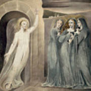 The Three Maries At The Sepulchre Art Print