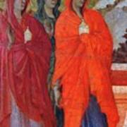 The Three Marys At The Tomb Fragment 1311 Art Print