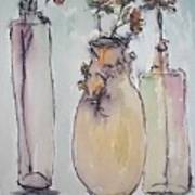 The Three Vases Art Print