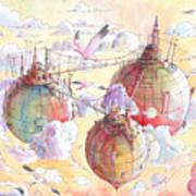The Three Worlds Art Print
