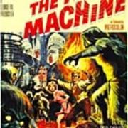 The Time Machine B Art Print