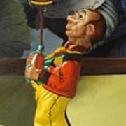 The Tin Juggler Art Print
