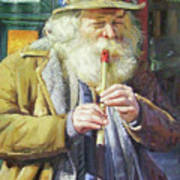 The Tin Whistle Art Print