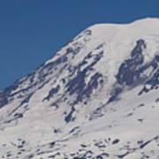 The Top Of Mount Rainier Art Print