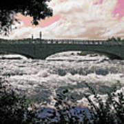The Torrent Above Niagara Art Print