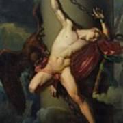 The Torture Of Prometheus Art Print