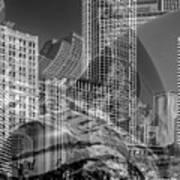 The Tourists - Chicago II Art Print