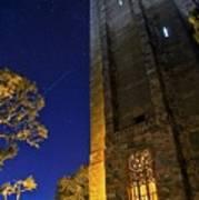 The Tower At Night Art Print