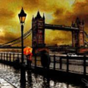 The Tower Bridge As I See Art Print