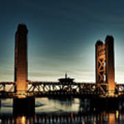 The Tower Bridge At Sunset Art Print