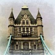 The Tower Bridge In London 2 Art Print