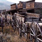 The Town Of Cody Wyoming Art Print