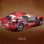 The Toyota 2000 Gt Art Print