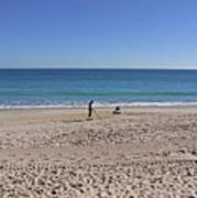 The Treasure Coast At Vero Beach In Florida Art Print