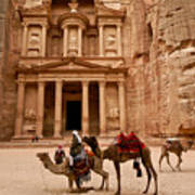 The Treasury Of Petra Art Print