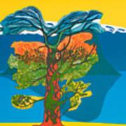 The Tree Of Life. From The Viking Saga. Art Print