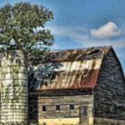 The Tree Silo Art Print