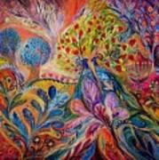 The Trees Of Eden Print by Elena Kotliarker