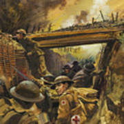 The Trenches Print by Andrew Howat