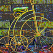 The Tricycle Art Print