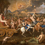 The Triumph Of Bacchus Art Print
