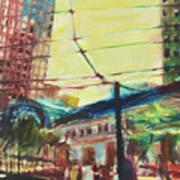 The Trolley Line Art Print