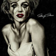 The True Marilyn Art Print