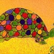 The Turtle In Lighter Colors Art Print