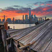 The Twisted Pier Panorama Art Print