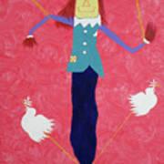 The Un-scaredcrow By Ken Tesoriere Art Print