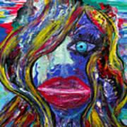The Unfolding Worlds Perception Art Print