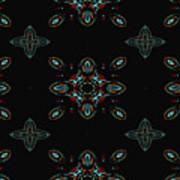 The Universe Display At Night Abstract Art Print