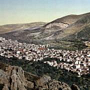 The Vale Of Nablus Art Print