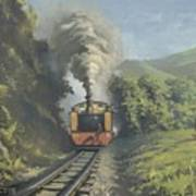The Vale Of Rheidol Railway Art Print
