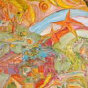 The Valley Of Wonders Art Print