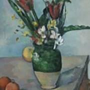 The Vase Of Tulips Art Print