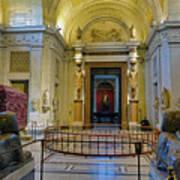 The Vatican Museum In The Vatican City Art Print