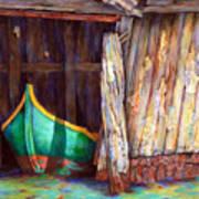 The Venetian Boathouse Art Print
