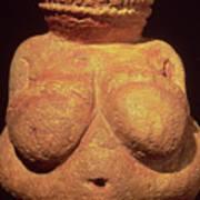 The Venus Of Willendorf Art Print